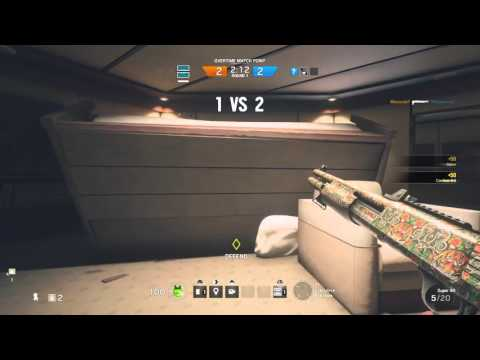 Video R6 Siege: Frost's shotgun is a bit insane download in MP3, 3GP, MP4, WEBM, AVI, FLV January 2017