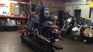 9. 2006 Harley Davidson Street Glide FLHX (Black) 2641 Fallen Cycles