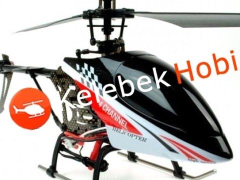 RC Helikopter   Süper Stabil   Tek Rotorlu   Sağlam Outdoor Heli