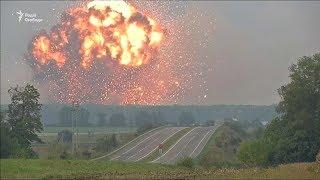 Video Вінничина. Відео вибухів на артилерійських складах MP3, 3GP, MP4, WEBM, AVI, FLV November 2017