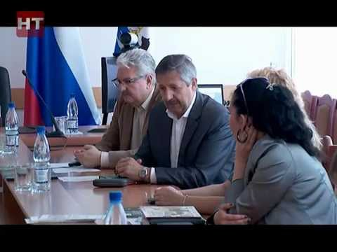 В новгородской мэрии сегодня общались с коллегами из Литвы