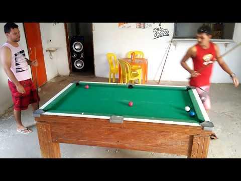 MICHEL vs SALES - treino no snooker bar em pedrinhas Areia Branca