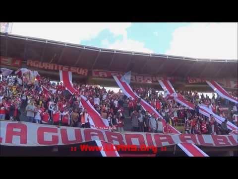 LA GUARDIA PTE - IND SANTA FE Vs O. CALDAS - Liga Postobón Clausura 2013 - - La Guardia Albi Roja Sur - Independiente Santa Fe
