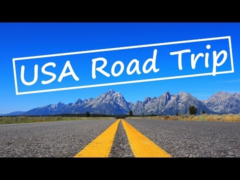 USA Road Trip in 3 Minutes - Traveling Lifestyle GOPRO HD
