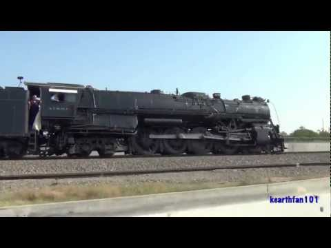 HD- The Return of Santa Fe 3751: Pacing, Chasing, and Racing: 4/21 and 4/22/12