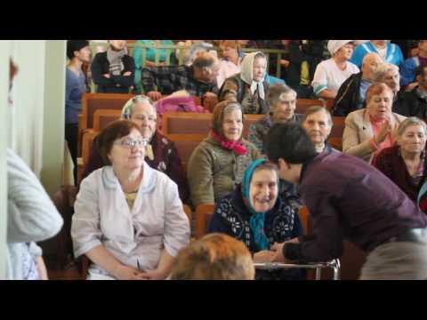 Родион Газманов - Лето - выступление в доме престарелых в дер.Авдотьинка