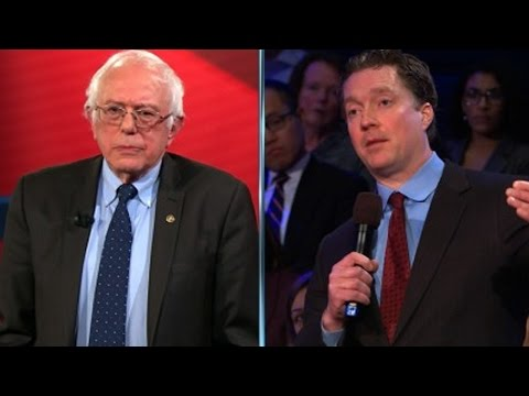Download Bernie Sanders Schools Trump-Backing Business Owner HD Mp4 3GP Video and MP3