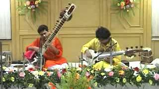 Suryashankar&Shivshankar Duet Sarod Sitar In Raga Jaijayanti