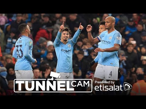 Video: BRAHIM DIAZ ON THE DOUBLE! | TUNNEL CAM | City 2-0 Fulham | Carabao Cup