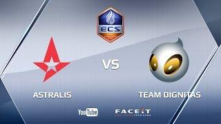Astralis vs dignitas, de_nuke, ECS Season 3