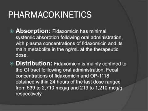 DIFICID fidaxomicin