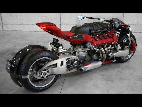 Самые КРУТЫЕ мотоциклы мира (видео)