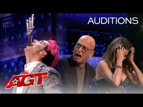 The AGT Judges Pull Swords out of Brett Loudermilk?! - America's Got Talent 2020
