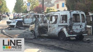 Viry-Chatillon France  City new picture : Policiers blessés après attaque aux cocktails Molotov / Viry-Châtillon (91) - France 08 octobre 2016