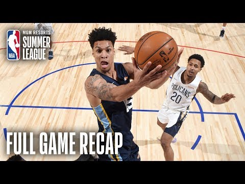Video: GRIZZLIES vs PELICANS | Grizz Advance To Finals After OT Thriller | MGM Resorts NBA Summer League