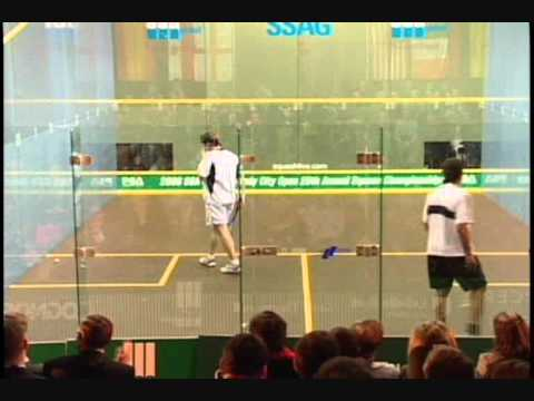 Jonathon Power VS Amr Shabana – Windy City Squash Open 2006 Semi-Finals