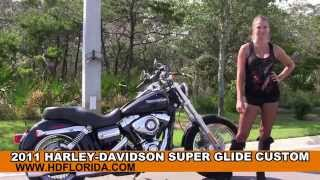 10. Used 2011 Harley Davidson Super Glide Custom for sale in Eglin Air force base