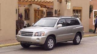 2003 Toyota Highlander Start Up And Review 3.0 L V6