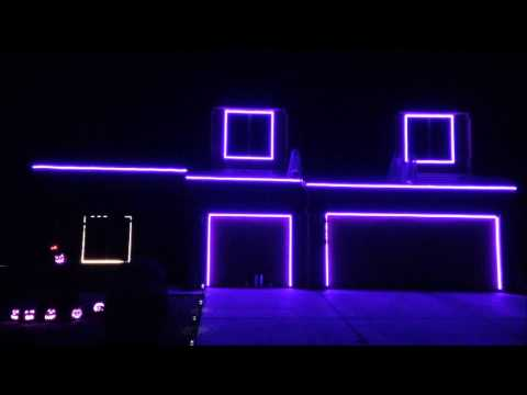 2013 Halloween Light Show – Ghosts 'n' Stuff