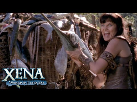 Xena Flings FISHES at Her Enemies | Xena: Warrior Princess