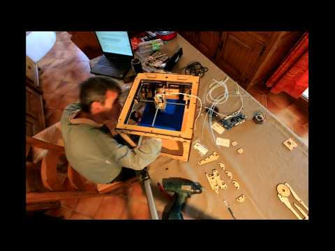 3D printer Ultimaker kit assembly timelapse
