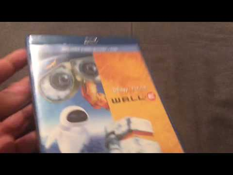 Wall-E Blu Ray Unboxing