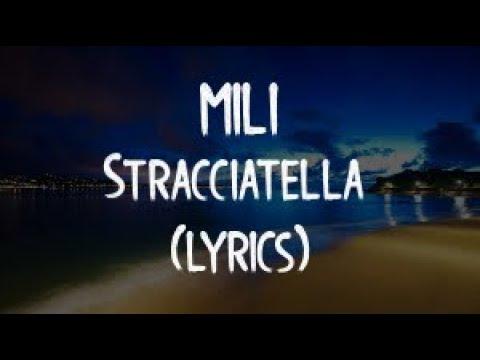 Mili - Stracciatella (official video)(Lyrics/Tekst)