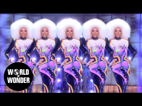 "RuPaul – ""Snapshot"" music video / Runway Looks of RuPaul's Drag Race"