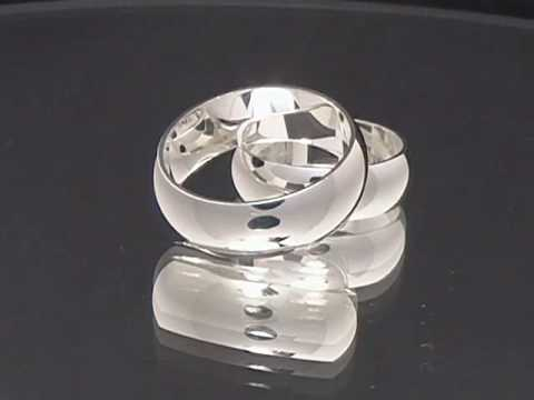 Silver Wedding Bands - www.kriskate.com
