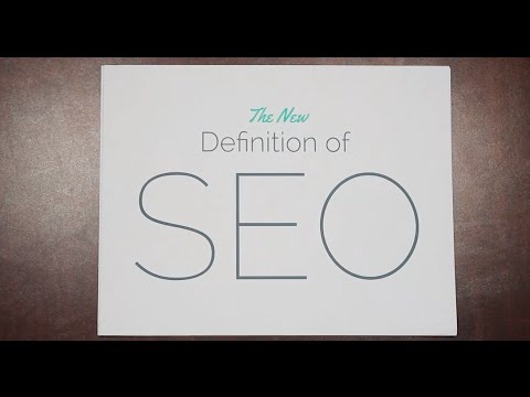 The New Definition of SEO