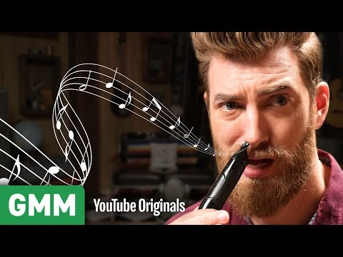 Nose Hair Trimmer Music  Is This An Instrument?