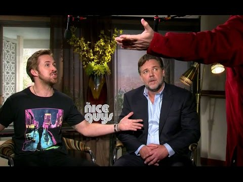 Ryan Gosling  Russell Crowe Getting Sh t for The Angry Birds