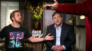 Ryan Gosling & Russell Crowe Getting Sh#t for The Angry Birds Movie - THE NICE GUYS (NSFW) by JoBlo Movie Trailers