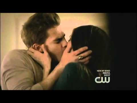 The Vampire Diaries Season 2 Episode 11 Elena and Stefan reunited