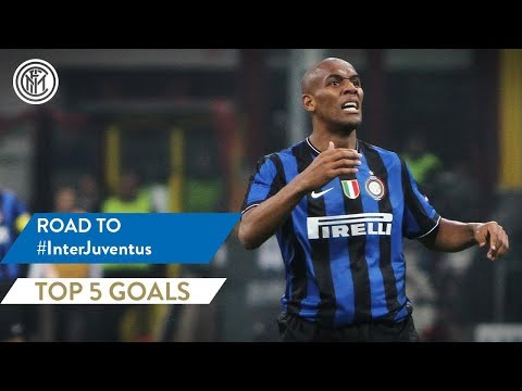 INTER vs JUVENTUS | TOP 5 GOALS | Maicon, Vieri, Seedorf and more...!