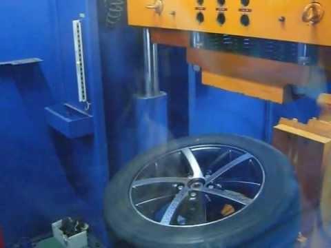 Прочность колёсных дисков WSP Italy W460 Rheia на удар спицы (Volkswagen)
