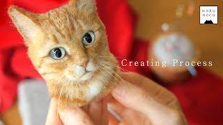 まるで本物!日本人アーティストが羊毛フェルトで作った猫のあまりのリアルさに驚愕