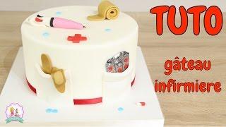 Video ♡• TUTORIEL DECORATION PATE À SUCRE GÂTEAU CAKE DESIGN INFIRMIERE  •♡ MP3, 3GP, MP4, WEBM, AVI, FLV Agustus 2018