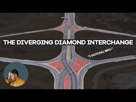 How Diverging Diamonds Keep You From Dying