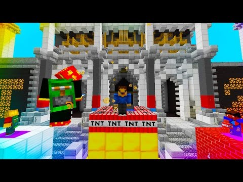 "Minecraft ""EPIC TNT OLYMPICS!"" #1 TnT Mini Games w/ The Pack!"