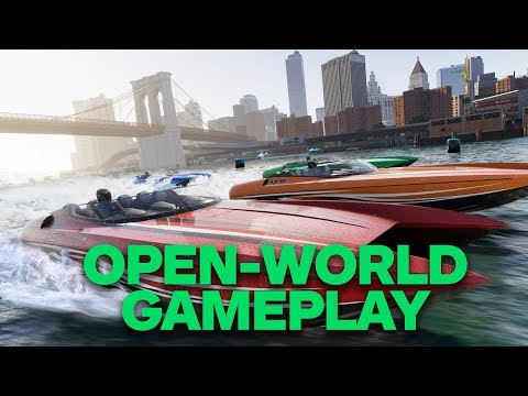 12 minutes de gameplay de The Crew 2