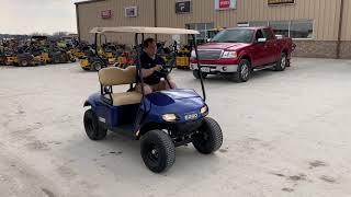 9. 2018 E-Z-GO Valor Gas Personal Transportation Vehicle (PTV)