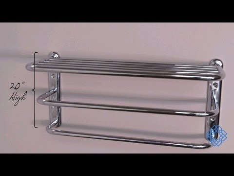 Video for Chrome Spa Rack - Three Tier 20 Inches