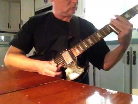 Electric Blues Slide Guitar demo  Epiphone G-400 Eternity Love Pedal - Hap Moore