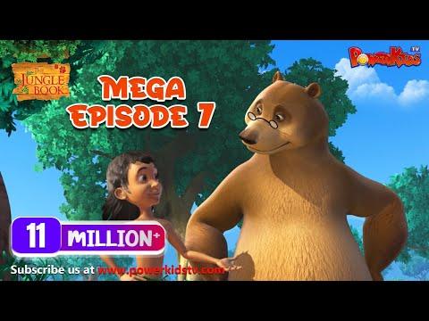 The Jungle Book Cartoon Show Mega Episode 7 | Latest Cartoon Series