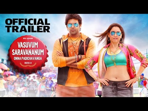 Vasuvum Saravananum Onna Padichavanga - Official Trailer in HD