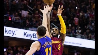 Kyrie Irving with the clutch game winning turnaround jumper on Klay Thompson to beat the Golden State Warriors on Christmas. About the NBA: The NBA is the pr...