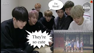 Video (BANGCHIN) BTS REACTION TO GFRIEND LOVE WHISPER MV MP3, 3GP, MP4, WEBM, AVI, FLV November 2017