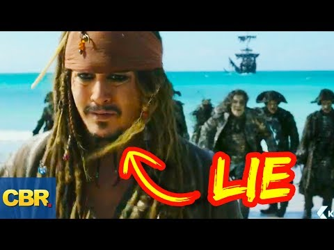 10 Lies You Were Told About Captain Jack Sparrow