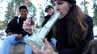 SNOW PACKED BONG RIPS by RawOG420
